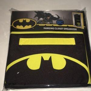 DC BATMAN HANGING CLOSET ORGANIZER HEROIC STORAGE